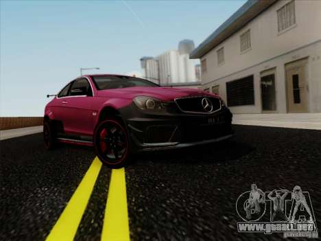 Mercedes Benz C63 AMG Coupe Presiden Indonesia para GTA San Andreas