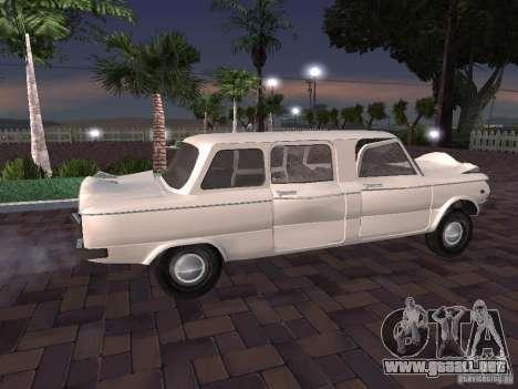 ZAZ 968 m Limousine para la visión correcta GTA San Andreas