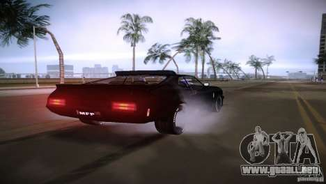 Ford Falcon GT Pursuit Special V8 Interceptor 79 para GTA Vice City visión correcta