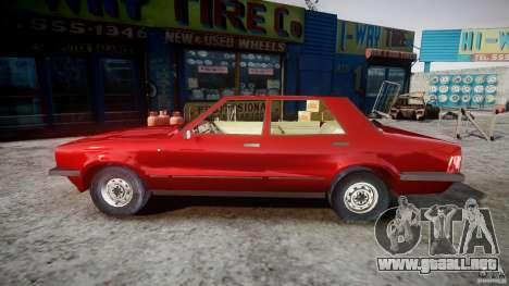 Ford Taunus para GTA 4 left