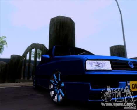 Volkswagen Golf III para GTA San Andreas vista hacia atrás