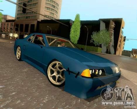 Elegy Drift Korch para visión interna GTA San Andreas