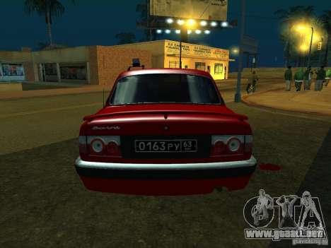 GAZ 3110 para la visión correcta GTA San Andreas