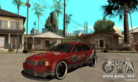 BMW M3 E36 1994 para GTA San Andreas left