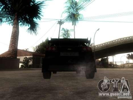 Chevrolet Lacetti Tuning para GTA San Andreas vista posterior izquierda