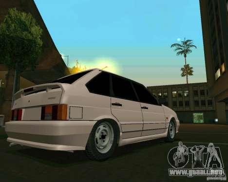 Ваз 2114 Extras para GTA San Andreas left