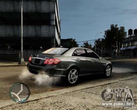 Mercedes Benz E63 AMG v2.0 2010 para GTA 4 visión correcta