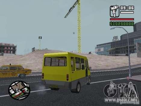 BASE DE DATOS DE DELFÍN 2215 para GTA San Andreas vista hacia atrás
