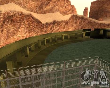 Base del dragón para GTA San Andreas segunda pantalla
