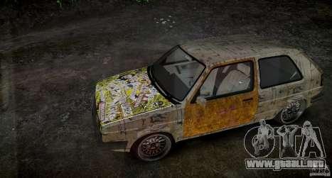 Volkswagen Golf Mk2 GTI Rat-Look para GTA 4