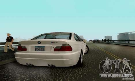 BMW M3 E46 para GTA San Andreas left