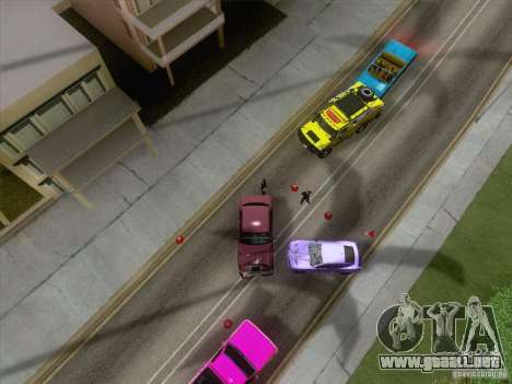 Accidente en la carretera para GTA San Andreas tercera pantalla