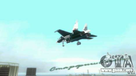 Vice City Air Force para GTA Vice City vista posterior