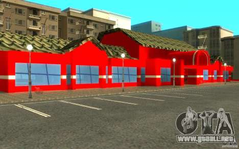 Coca Cola Market para GTA San Andreas sucesivamente de pantalla