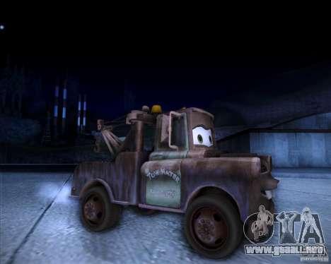 Car Mater para la visión correcta GTA San Andreas