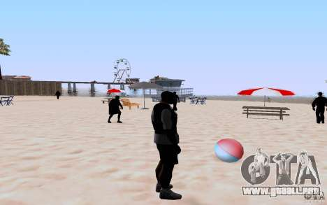 Reality Beach v2 para GTA San Andreas quinta pantalla