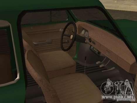 ZAZ 968 de drenaje para la visión correcta GTA San Andreas