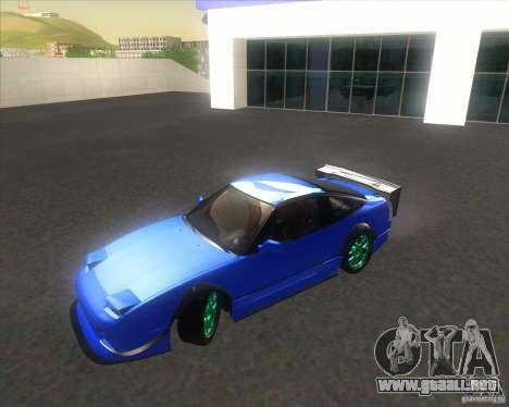 Nissan 240SX for drift para la visión correcta GTA San Andreas