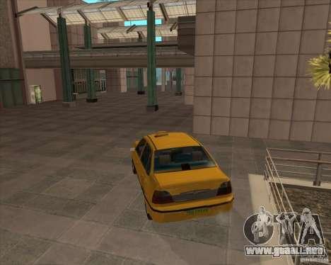 Daewoo Nexia Taxi para GTA San Andreas left