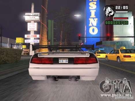 Infernus - beta - v.1 para la visión correcta GTA San Andreas