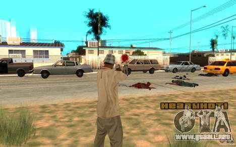 En la cabeza para GTA San Andreas