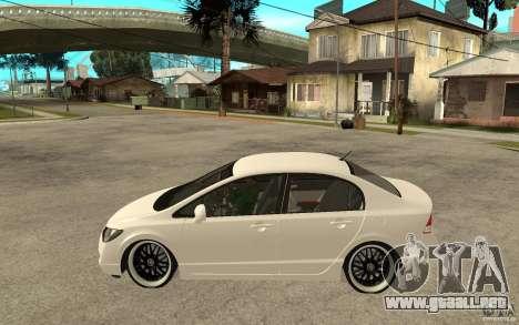 Honda Civic FD para GTA San Andreas left