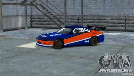 Nissan Silvia S15 Tokyo Drift V.2 para GTA 4 left