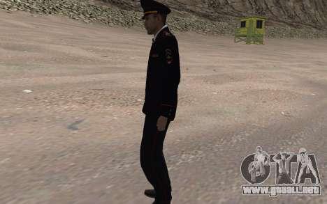 El funcionario del Ministerio del INTERIOR para GTA San Andreas segunda pantalla