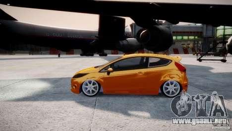 Ford Fiesta 2012 para GTA 4 visión correcta