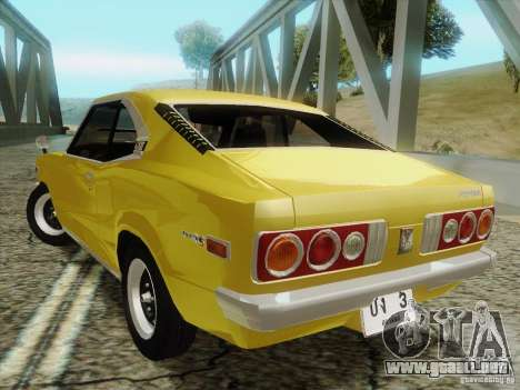 Mazda Savanna RX3 para GTA San Andreas left