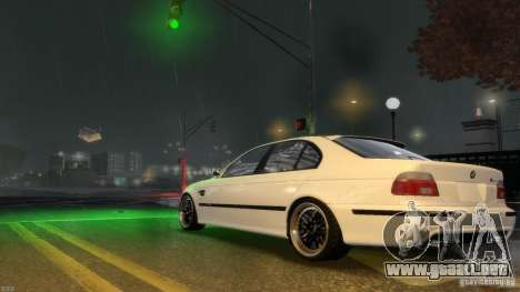 BMW M5 E39 BBC v1.0 para GTA 4 vista interior