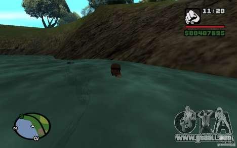 Flujo y reflujo para GTA San Andreas tercera pantalla