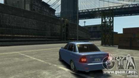 Lada Priora para GTA 4 visión correcta