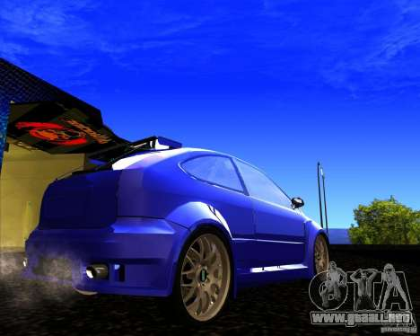 Ford Focus ST para GTA San Andreas left