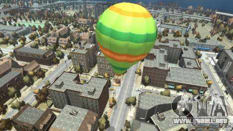 Balloon Tours option 10 para GTA 4 Vista posterior izquierda