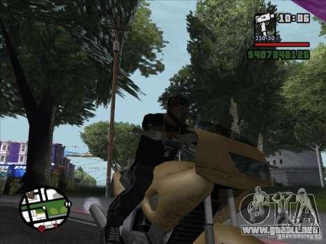 Pequeña trivia para GTA San Andreas quinta pantalla