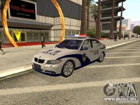 BMW 3 Series China Police para GTA San Andreas