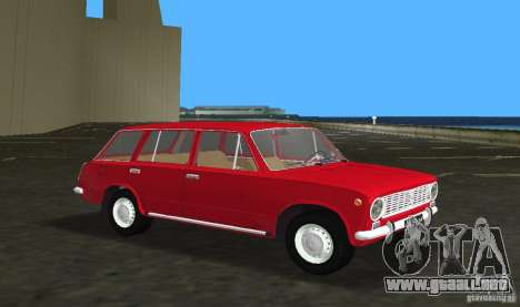 VAZ 2102 para GTA Vice City left