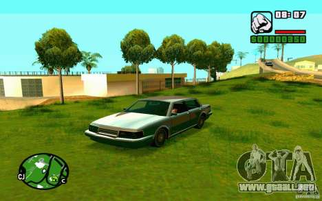 ENBSeries por Blaid para GTA San Andreas tercera pantalla