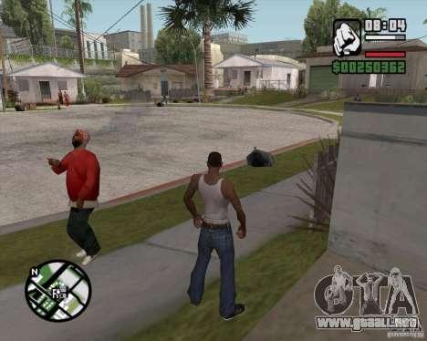 L.A. Mod para GTA San Andreas segunda pantalla