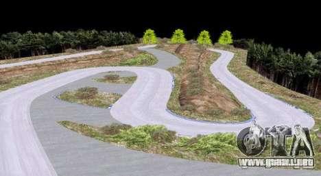 Ebisu West para GTA San Andreas sucesivamente de pantalla