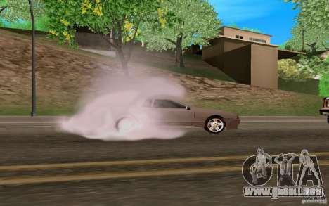 Elegía nuevo para visión interna GTA San Andreas
