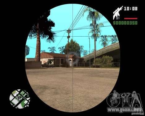 SR 25 para GTA San Andreas tercera pantalla