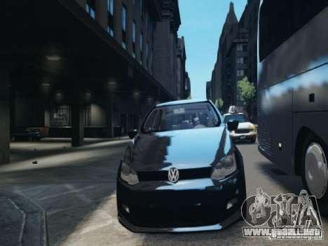 Volkswagen Gol G6 para GTA 4 vista interior
