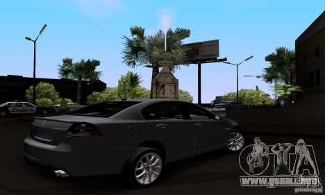 Pontiac G8 GXP para GTA San Andreas left