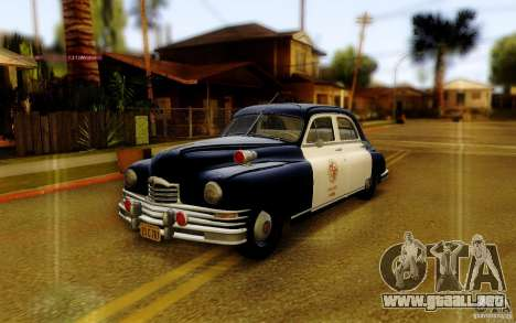 Packard Touring Police para GTA San Andreas
