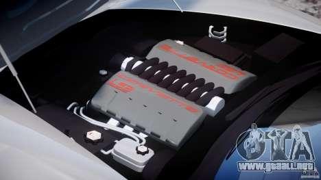 Chevrolet Corvette Grand Sport 2010 v2.0 para GTA 4 visión correcta
