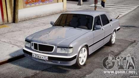 GAZ-3110 Turbo WRX STI v1.0 para GTA 4 vista interior
