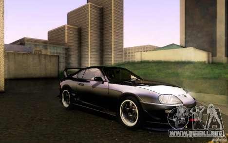 Toyota Supra D1 1998 para visión interna GTA San Andreas