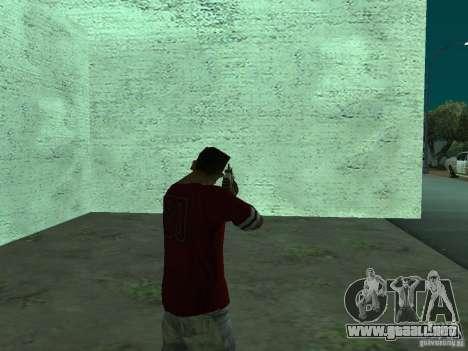 FN Scar-L HD para GTA San Andreas sucesivamente de pantalla